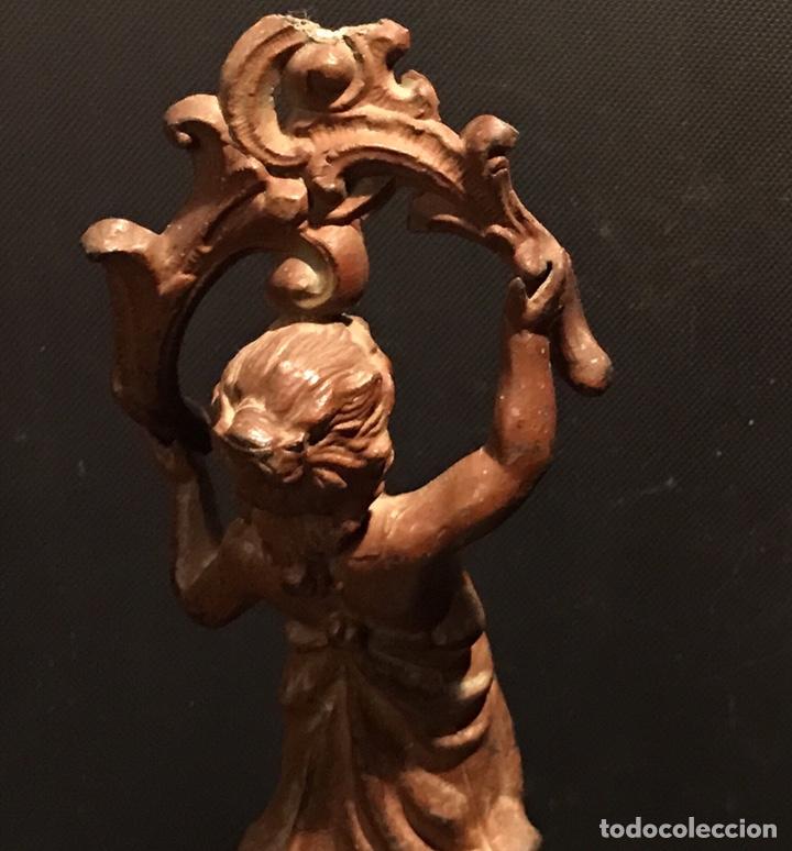 Arte: Escultura Modernista en Calamina. Años 20 (o quizá antes) - Foto 10 - 130470968