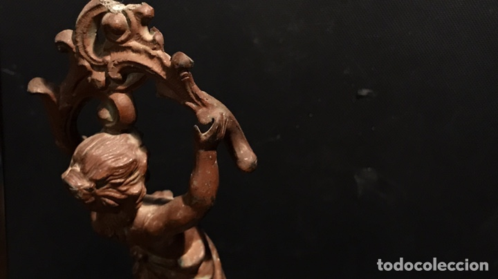 Arte: Escultura Modernista en Calamina. Años 20 (o quizá antes) - Foto 11 - 130470968