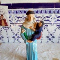 Arte: BONITA SAN ANTONIO CON NIÑO DE PIEDRA O SIMILAR. Lote 130546107