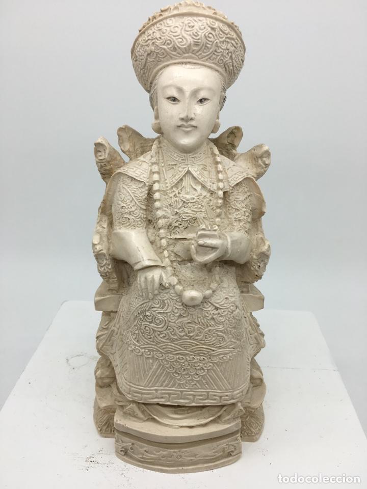 FIGURA ORIENTAL (Arte - Escultura - Otros Materiales)