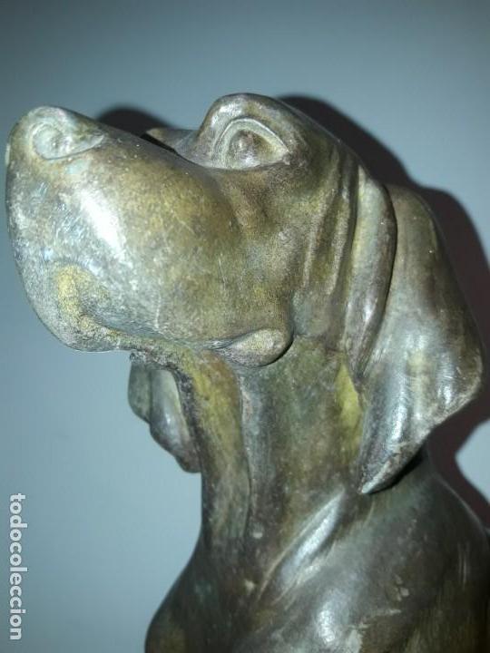 Arte: Escultura de calamina art. Deco. - Foto 3 - 135429150