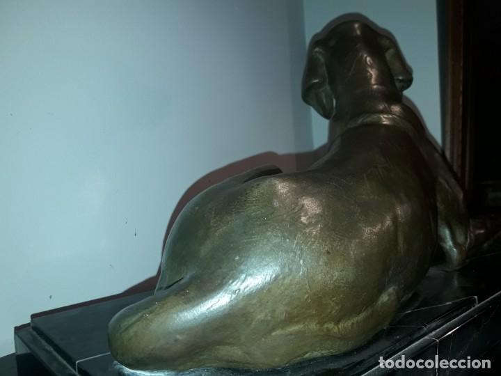 Arte: Escultura de calamina art. Deco. - Foto 7 - 135429150