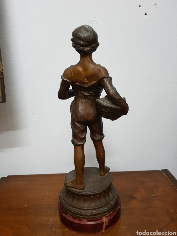Arte: Niño modernista de calamina - Foto 5 - 135873311