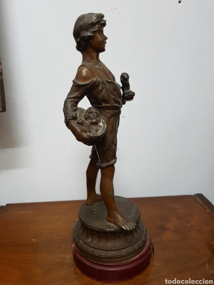 Arte: Niño modernista de calamina - Foto 6 - 135873311