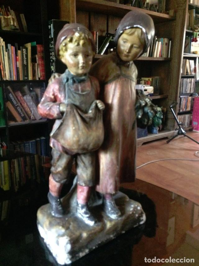 Arte: Escultura siglo XIX o XVIII - Foto 4 - 135923910