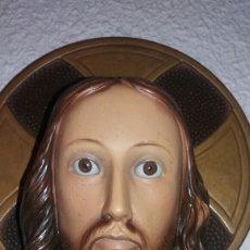 Arte: ANTIGUA Y MARAVILLOSA FIGURA DEL SAGRADO CORAZÓN DE JESÚS. Lote 136132089