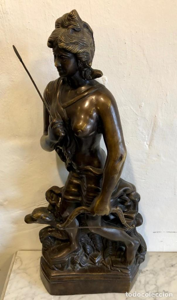 ESCULTURA DE BRONCE (Arte - Escultura - Otros Materiales)