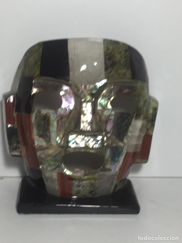 MÁSCARA AZTECA (Arte - Escultura - Otros Materiales)