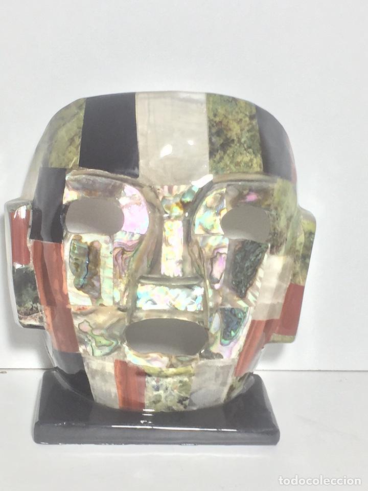 Arte: Máscara azteca - Foto 2 - 142320810