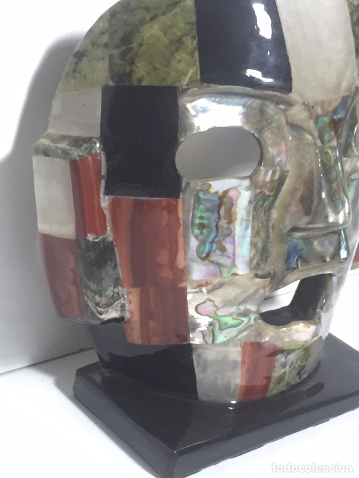 Arte: Máscara azteca - Foto 3 - 142320810