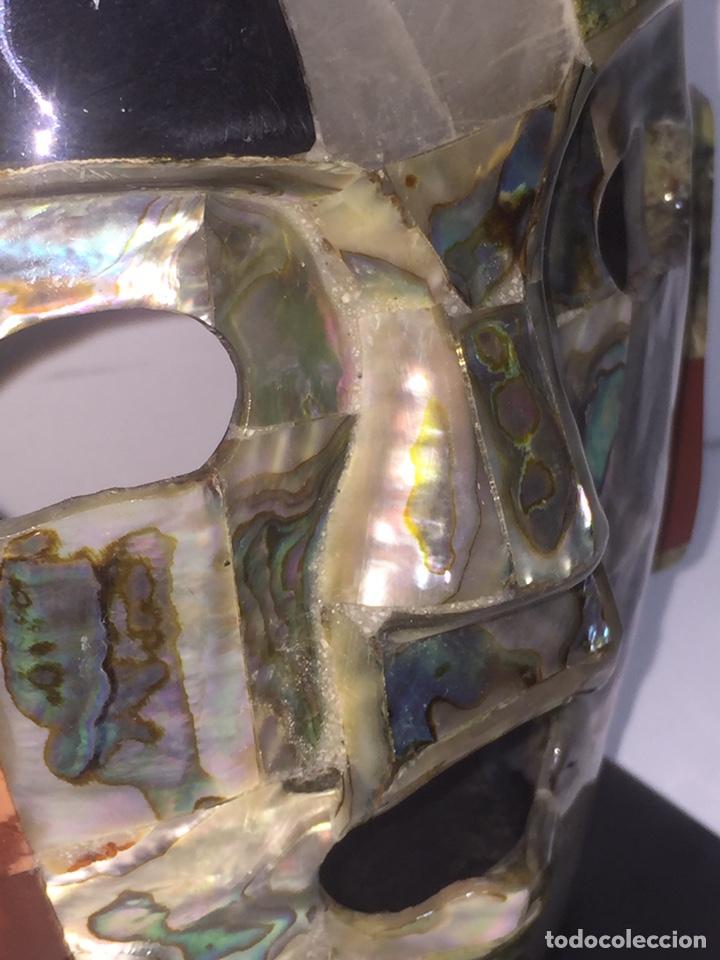 Arte: Máscara azteca - Foto 18 - 142320810