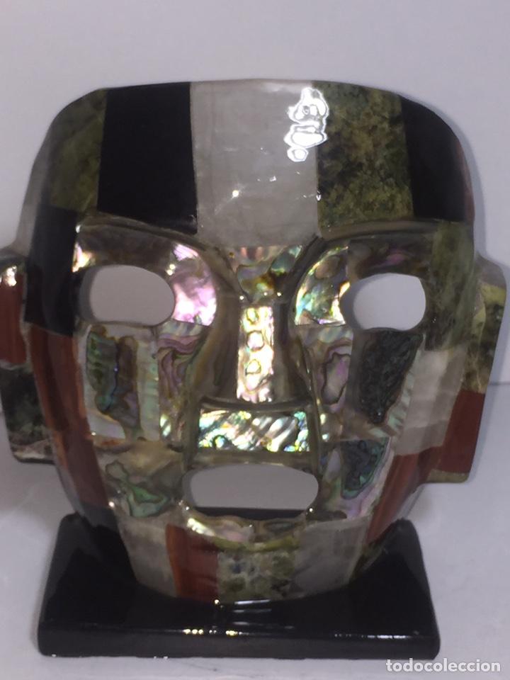 Arte: Máscara azteca - Foto 20 - 142320810