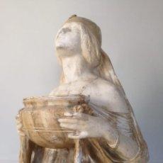Arte: OFRENDA - LAMBERT ESCALER - PRECIOSA ESCULTURA MODERNISTA ART NOUVEAU. Lote 143085330