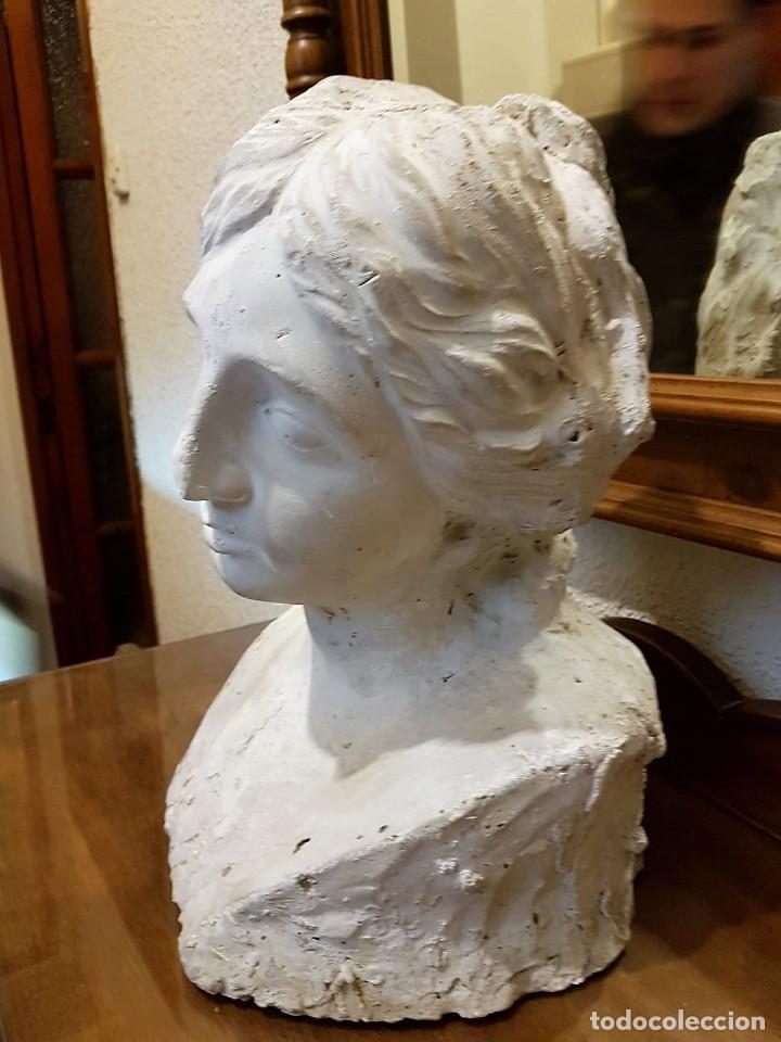 Arte: Busto femenino S. XIX - Foto 3 - 145279374