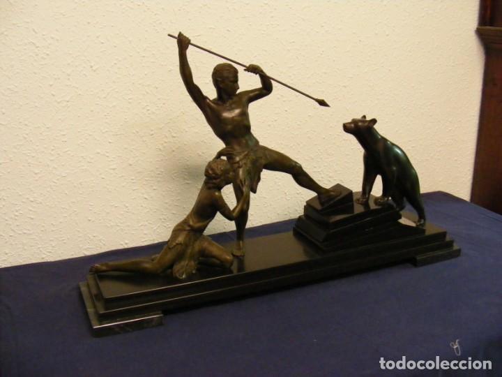 Arte: ESCULTURA ART DECO 1920. URIANO - Foto 13 - 146539106