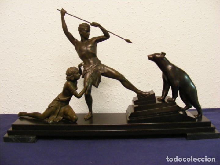 Arte: ESCULTURA ART DECO 1920. URIANO - Foto 15 - 146539106
