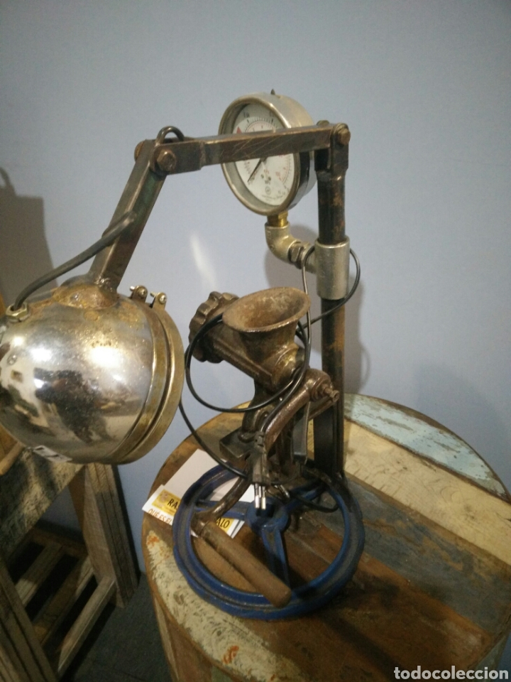 Arte: Lampara escultura - Foto 2 - 147615824
