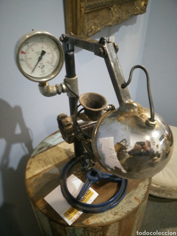 Arte: Lampara escultura - Foto 3 - 147615824