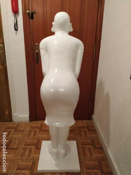 Arte: BUDA GRAN TAMAÑO 1 m 40 cm. IDEAL RECEPCIÓN HOTEL HOSTELERIA PELUQUERIA SPA GIMNASIO - Foto 6 - 149668910