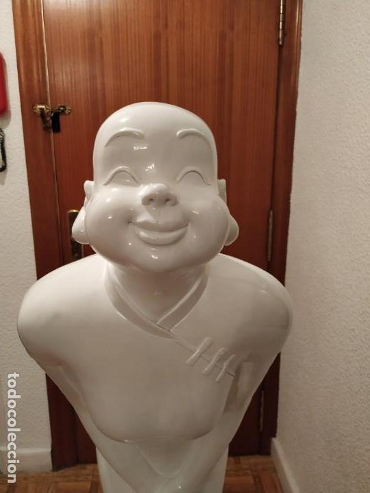 Arte: BUDA GRAN TAMAÑO 1 m 40 cm. IDEAL RECEPCIÓN HOTEL HOSTELERIA PELUQUERIA SPA GIMNASIO - Foto 8 - 149668910