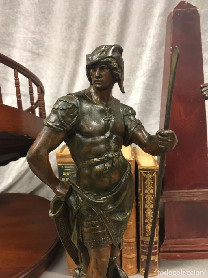 Arte: Escultura Guerrero Honneur Patrie - Emile L. Picault (Francia) - 32 cm - Foto 2 - 151024114