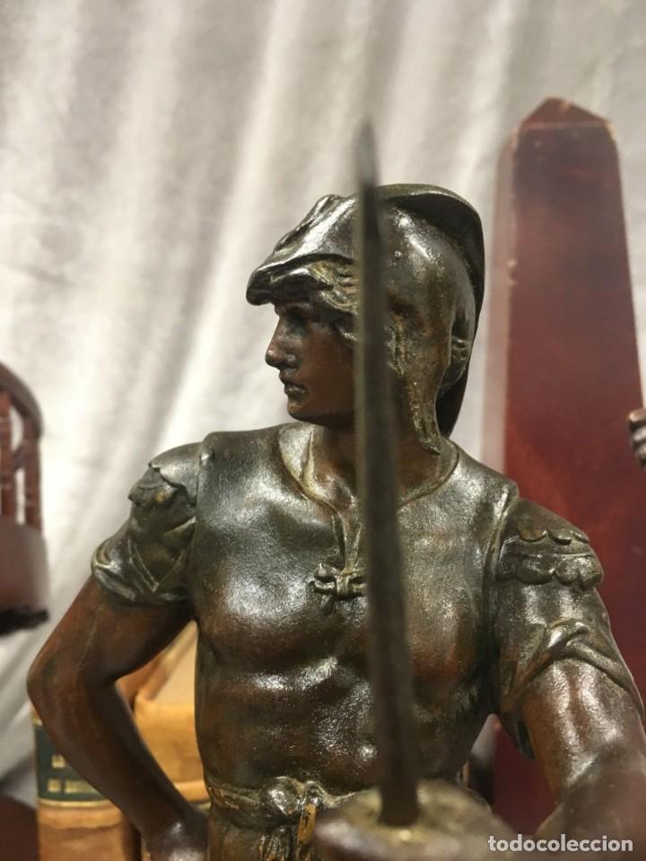 Arte: Escultura Guerrero Honneur Patrie - Emile L. Picault (Francia) - 32 cm - Foto 6 - 151024114