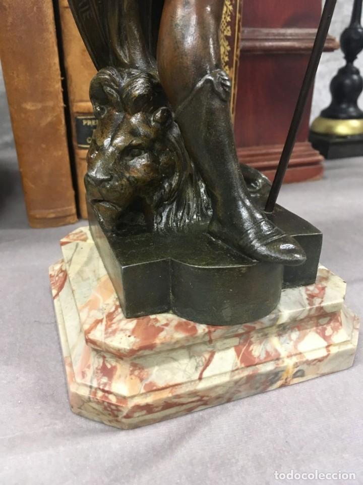 Arte: Escultura Guerrero Honneur Patrie - Emile L. Picault (Francia) - 32 cm - Foto 7 - 151024114