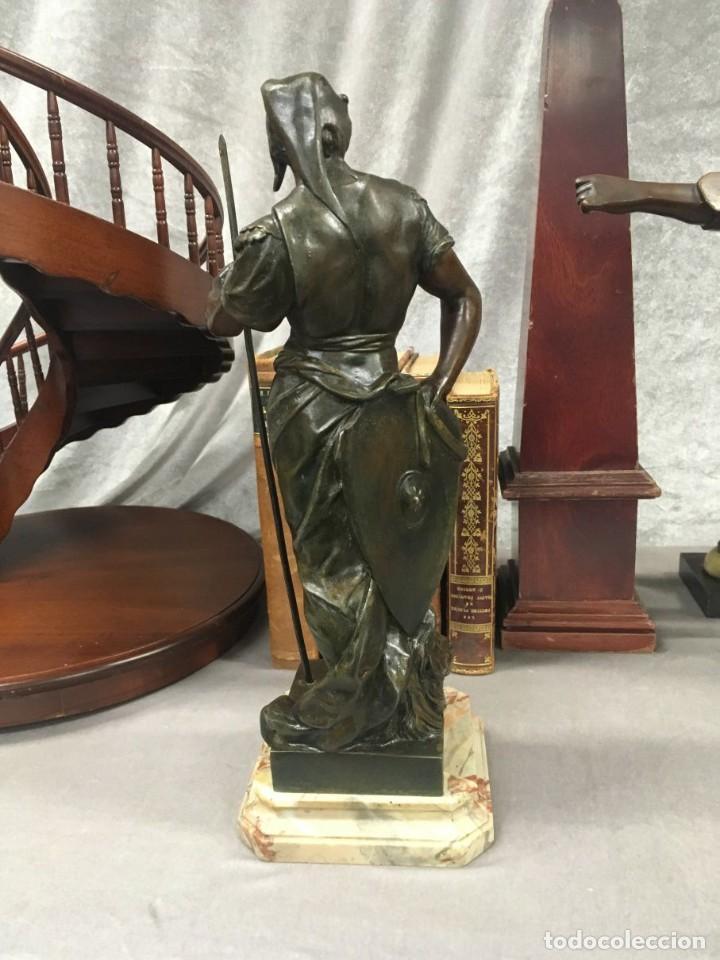 Arte: Escultura Guerrero Honneur Patrie - Emile L. Picault (Francia) - 32 cm - Foto 11 - 151024114