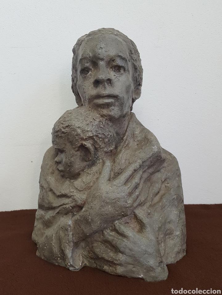 JILL COWIE SANDERS ESCULTURA AÑOS 70 (Arte - Escultura - Otros Materiales)