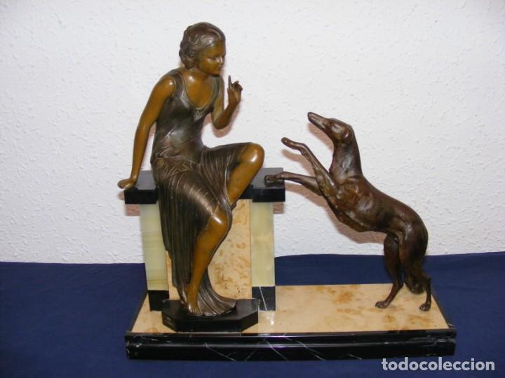 ESCULTURA ART DECO 1920 (Arte - Escultura - Otros Materiales)