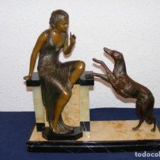 Arte: ESCULTURA ART DECO 1920. Lote 153933710