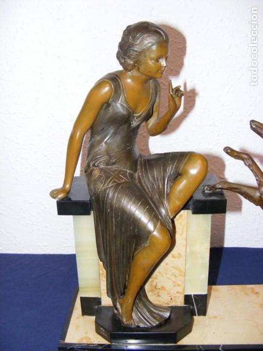 Arte: ESCULTURA ART DECO 1920 - Foto 2 - 153933710