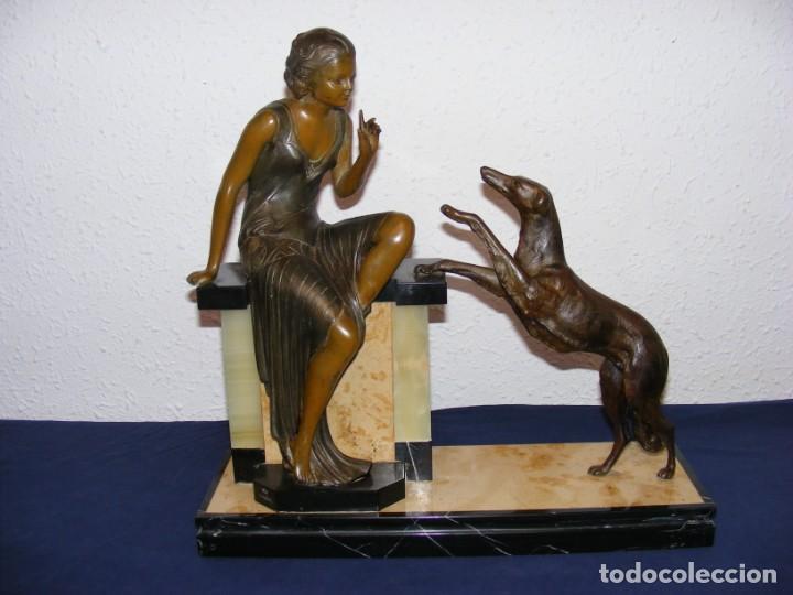 Arte: ESCULTURA ART DECO 1920 - Foto 9 - 153933710