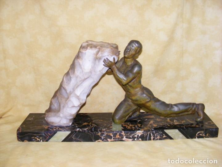 ESCULTURA CALAMINA (LA FUERZA) (Arte - Escultura - Otros Materiales)