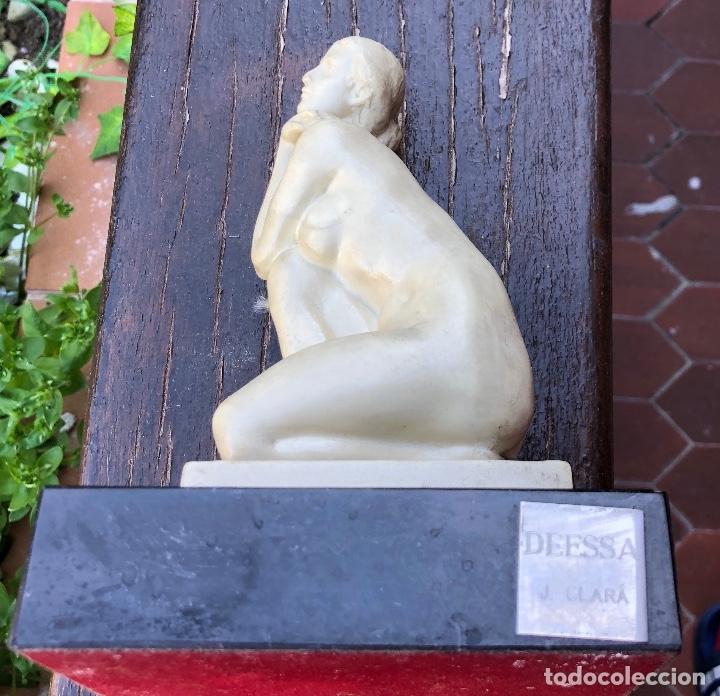 Arte: MUJER PENSANDO-PIEDRA-22*13cm-(91€) - Foto 14 - 155241628