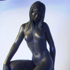 Arte: ESCULTURA FEMENINA DE MIQUEL SENSERRICH ( 1933) . Lote 155129098
