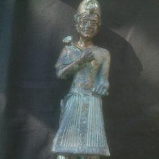 Arte: FIGURA DIOSA EGIPCIA ALTURA: 25CM. Lote 155332854