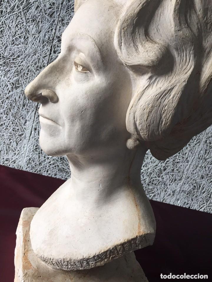 Arte: BUSTO FEDERICO COULLAUT VALERA (SRA RITA COELLO,1972)Condesa de Corbul, Dama de honor Orden de Malta - Foto 5 - 155658670