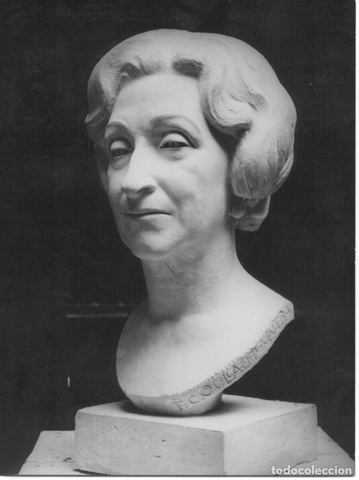Arte: BUSTO FEDERICO COULLAUT VALERA (SRA RITA COELLO,1972)Condesa de Corbul, Dama de honor Orden de Malta - Foto 6 - 155658670