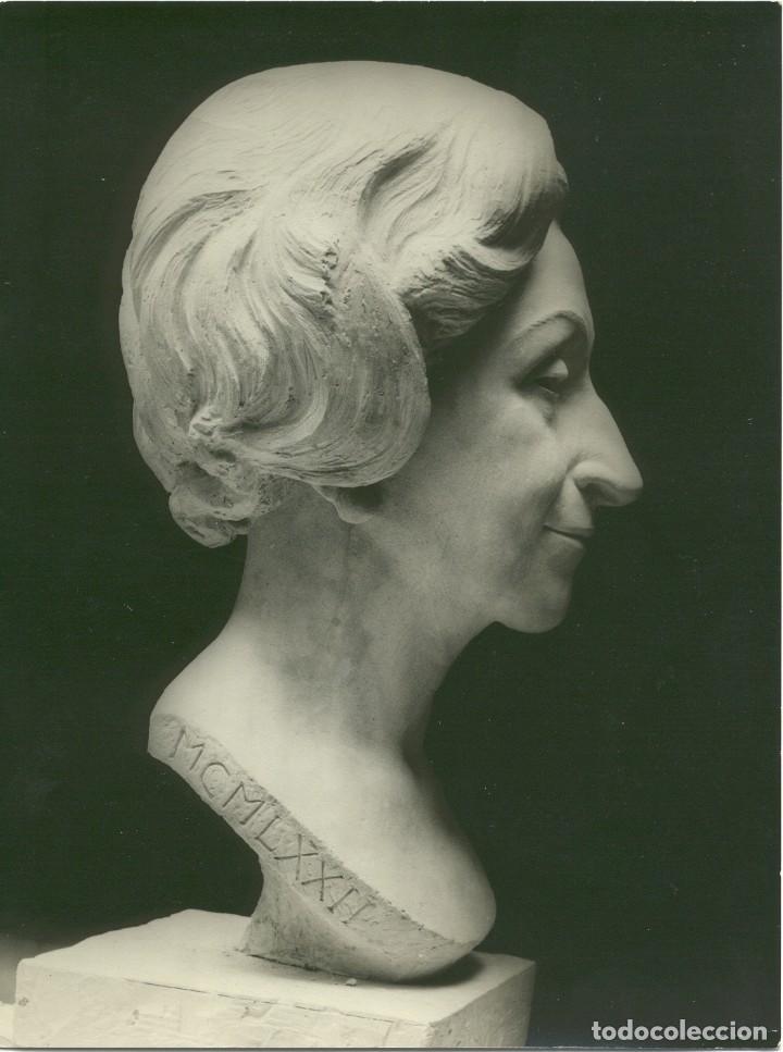 Arte: BUSTO FEDERICO COULLAUT VALERA (SRA RITA COELLO,1972)Condesa de Corbul, Dama de honor Orden de Malta - Foto 7 - 155658670