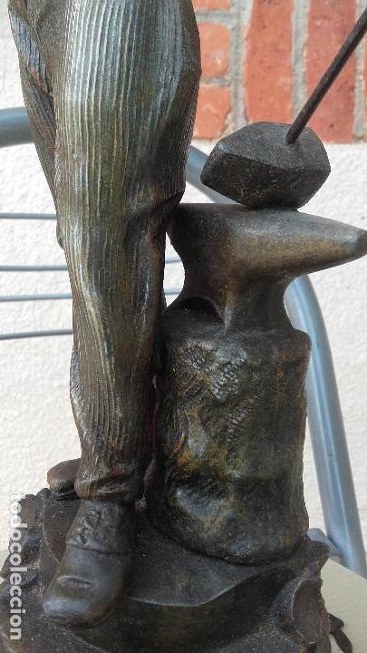 Arte: Figura de herrero - Foto 3 - 157975126