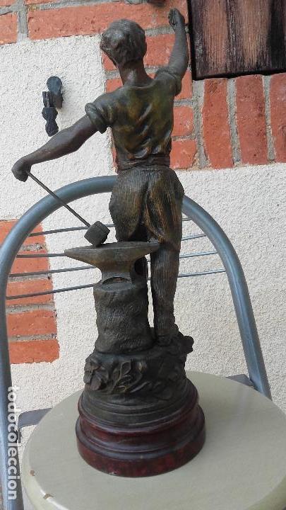 Arte: Figura de herrero - Foto 6 - 157975126