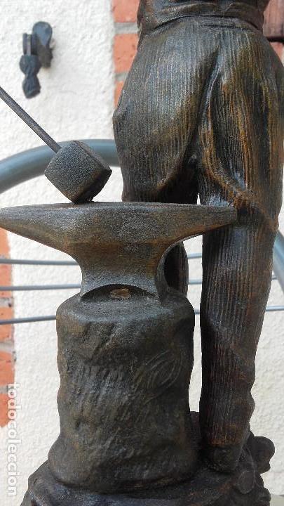 Arte: Figura de herrero - Foto 7 - 157975126