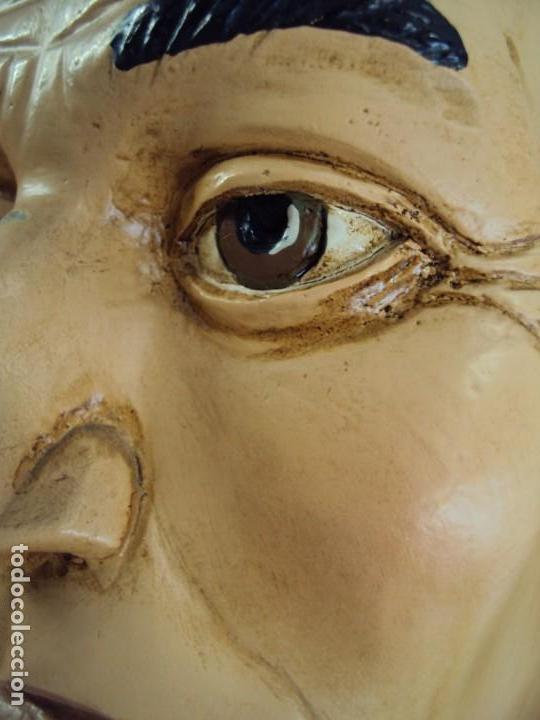 Arte: (ANT-190450)GIGANTESCA FIGURA DE INDIO EN FIBRA DE VIDRIO - Foto 20 - 177551929