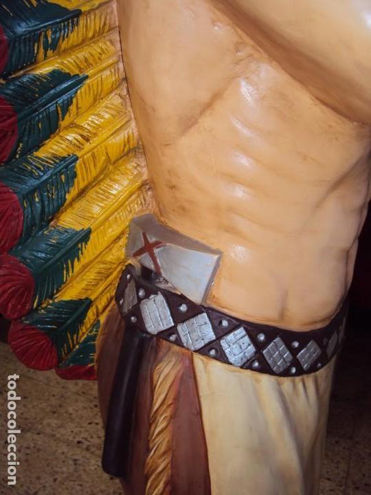 Arte: (ANT-190450)GIGANTESCA FIGURA DE INDIO EN FIBRA DE VIDRIO - Foto 28 - 177551929