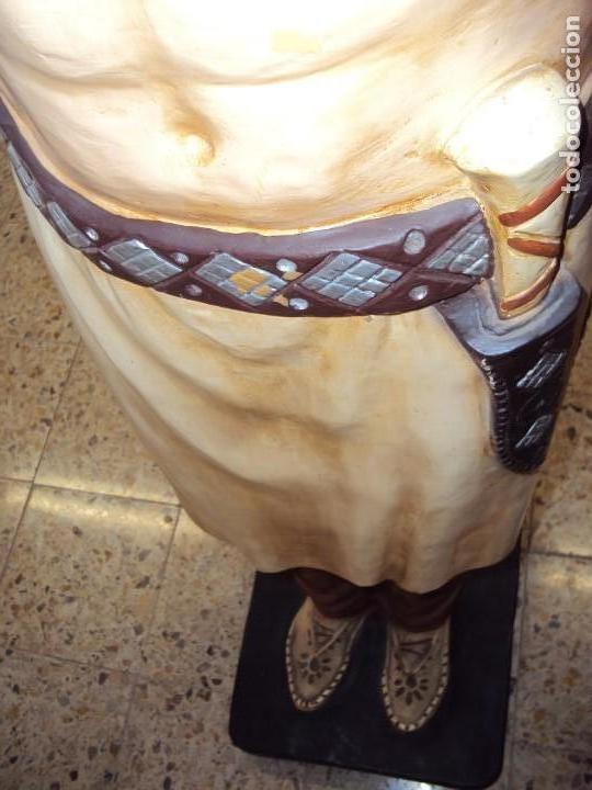 Arte: (ANT-190450)GIGANTESCA FIGURA DE INDIO EN FIBRA DE VIDRIO - Foto 34 - 177551929