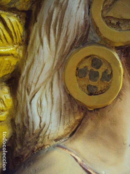 Arte: (ANT-190450)GIGANTESCA FIGURA DE INDIO EN FIBRA DE VIDRIO - Foto 46 - 177551929