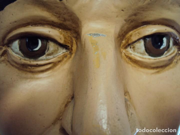 Arte: (ANT-190450)GIGANTESCA FIGURA DE INDIO EN FIBRA DE VIDRIO - Foto 49 - 177551929