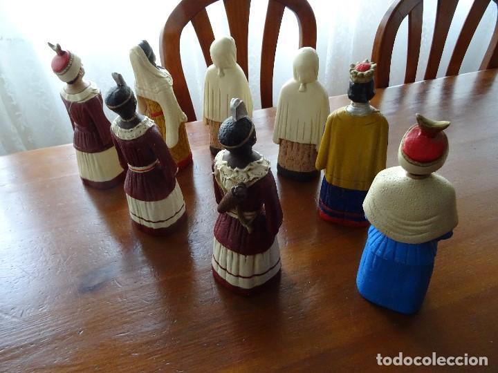 Arte: Gigantes de Pamplona, 8 figuras macizas, 20 cm - Foto 4 - 162931642
