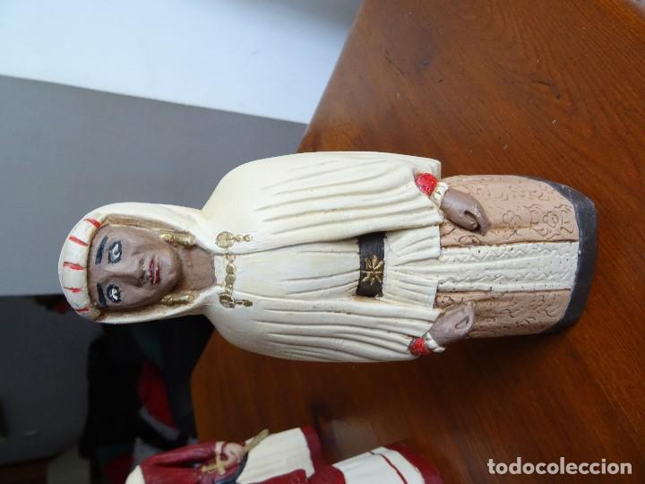 Arte: Gigantes de Pamplona, 8 figuras macizas, 20 cm - Foto 7 - 162931642